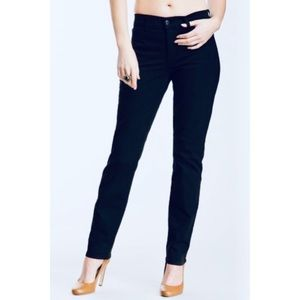 """NYDJ """"Monica"""" Jeggings- Washed Out Black-8"""